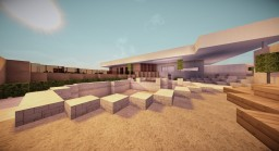 Minecraft Modern House Villa Ever Green Minecraft Map & Project
