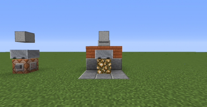 A small statue in minecraft! In the one command! Minecraft ...