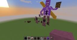 League of Legends Pixel Art Minecraft Map & Project