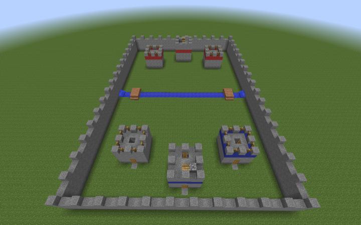Minecraft Library Build Battle