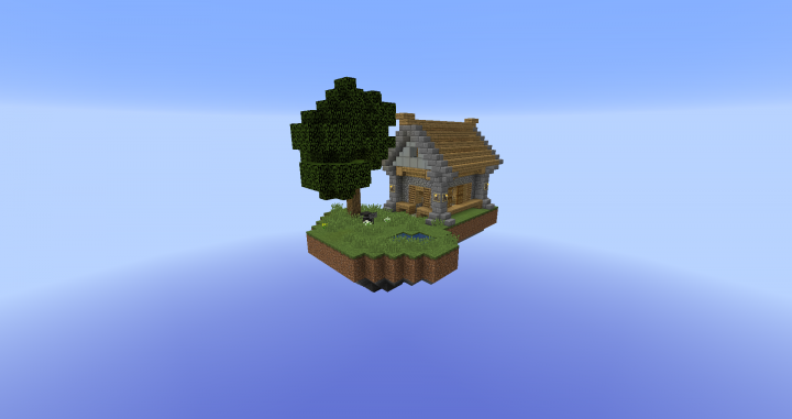 Skyblock (With Shop) [1 8] Minecraft Project