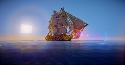 [Ship] -Le Fougeux - Minecraft Map & Project
