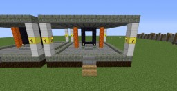 Mindcrack Post Beta 1.8 Nether Hub Overworld Entrance