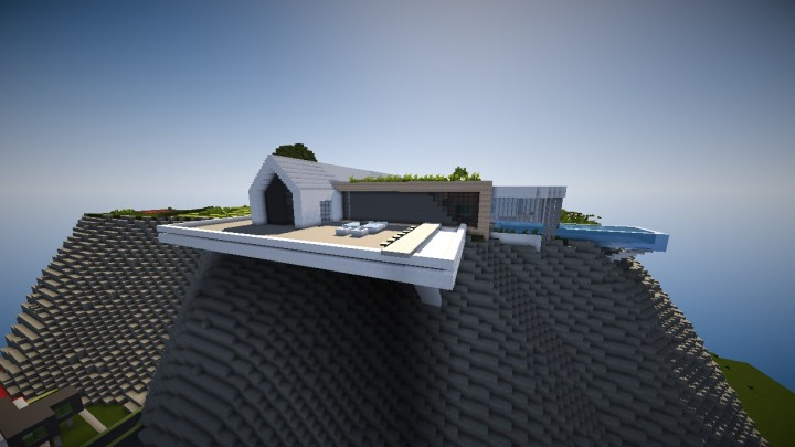 Minimalist concept house minecraft project for Minimalist house minecraft
