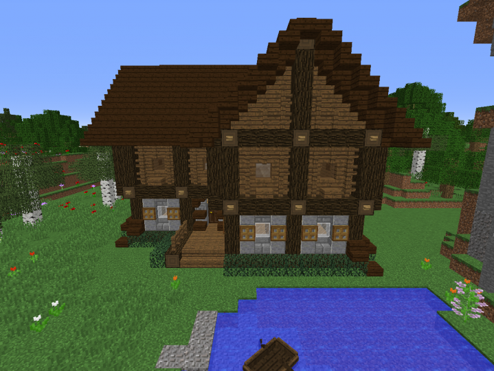 Big Cottage Minecraft Project