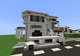 Big House - Modern (Included TXT) Minecraft Map & Project