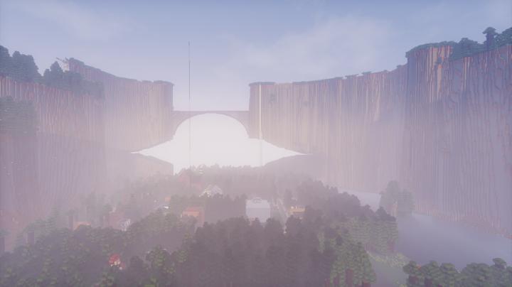 Gravity Falls Map Minecraft Project