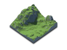 Campato Hills [512x512] Minecraft Map & Project