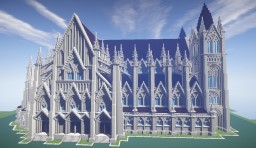 Gothic Church 4 Minecraft