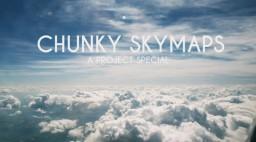 Chunky Skymaps [special] Minecraft