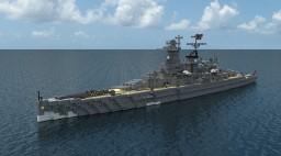 German Cruiser Admiral Graf Spee Minecraft Map & Project