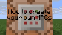 How To Create Custom NPCs In Vanilla 1.9 Minecraft Blog Post