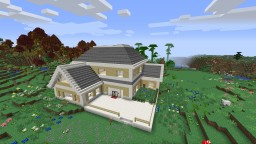 Suburban-Style Home Minecraft Map & Project