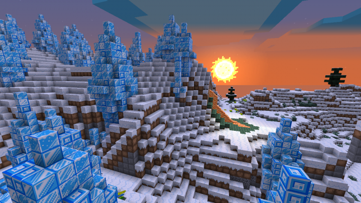 No, the Ice Spike biome wont kill you instantly.