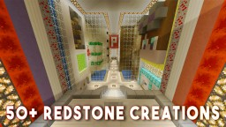 REDSTONE UNDERGROUND BASE (50+ Redstone Creations) Minecraft Blog