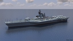 USS Midway (CV-41) Minecraft Map & Project