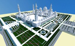 Sheikh Zayed Grand Mosque Minecraft Map & Project