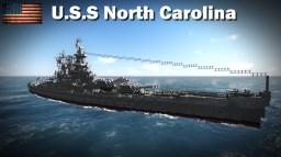 USS North Carolina BB-55 by Yeroman - Shipside Minecraft Map & Project