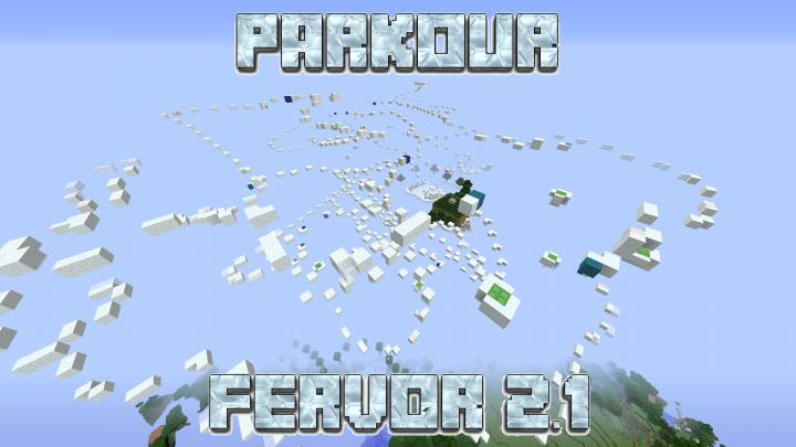 Parkour Fervor (v2 1) : 1-4 Player Giant Parkour Map
