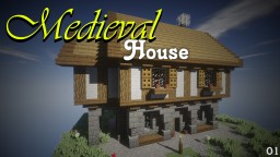 Medieval House 01 Minecraft Map & Project
