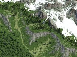 Mountain range Minecraft Map & Project