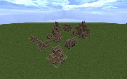 Harek's Nordic Style House Pack Minecraft