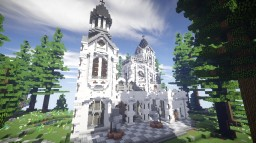 Neoclassicism Floating Island Spawn Minecraft