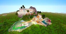 Modern Redstone House at the top of the Hill (1 of 10) Minecraft Map & Project