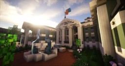 Greenfield Project - Neoclassical Mansion Minecraft Map & Project