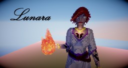Fire Witch Lunara Minecraft