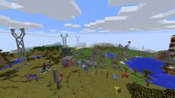 Fallout post-apo map by EmcPL Minecraft Map & Project