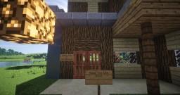 Modern House V3 Minecraft Map & Project