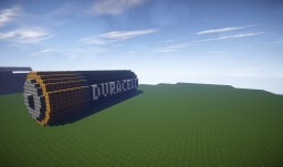 HUGE Duracell Battery Minecraft