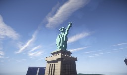 statue of liberty Minecraft Map & Project