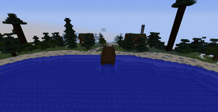 Friday The 13th Camp Crystal Lake Minecraft Project