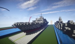 USS Freedom Minecraft Map & Project