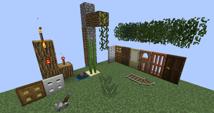 Texture Pack and Model Pack
