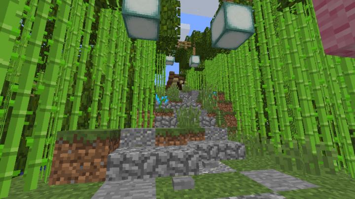 Japanese Island Village Minecraft Project