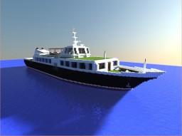 Теплоход Уран/the ship Uranus Minecraft Map & Project
