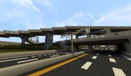 3-Level Cloverstack Interchange | BwC Minecraft Project