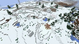 THE SNOW HAS RISEN Adventure Map Minecraft