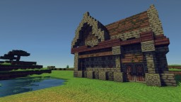 Small House on a Field Minecraft
