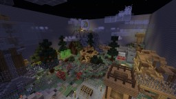 GalaxiumSurvival - BlockHunt Map ! Minecraft