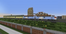 EMD F7 Diesel-electric Locomotive (1:1 Scale) Minecraft Project