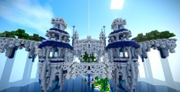 Sky city Minecraft Map & Project