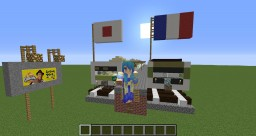 Metro de Paris France & Tokyo Japan Minecraft Project