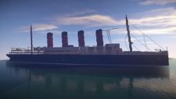 RMS Lusitania (on progress) Minecraft Map & Project