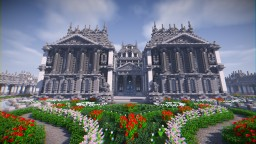 Classical-renaissance palace. Minecraft Map & Project