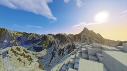 Frozen Mountains By MrFroziX134 Minecraft Map & Project
