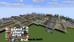 GTA SanAndreas map by EmcPL Minecraft Map & Project